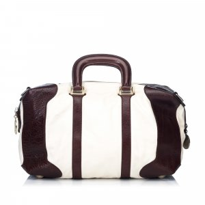 Fendi Leather Travel Bag