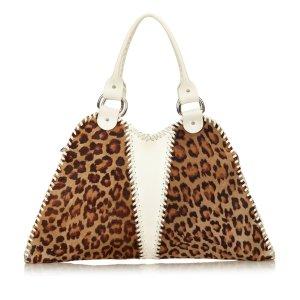 Fendi Leopard Printed Handbag