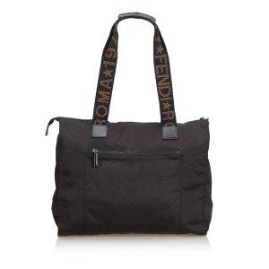 Fendi Logo Nylon Shoulder Bag