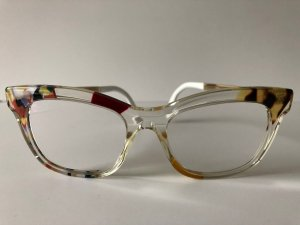 Fendi Glasses multicolored synthetic material