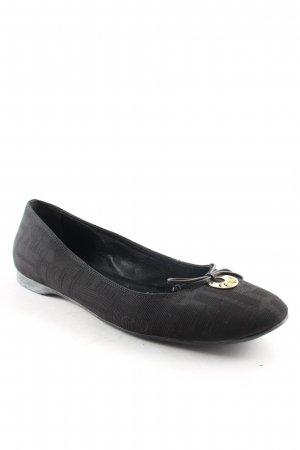 Fendi Mary Jane Ballerinas black simple style