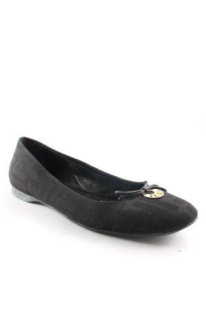 Fendi Mary Jane Ballerinas black simple style