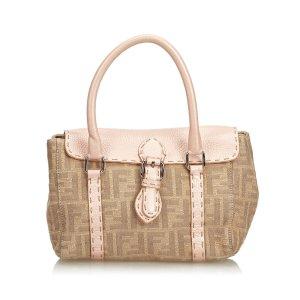 Fendi Mini Linda Zucca Jacquard Handbag