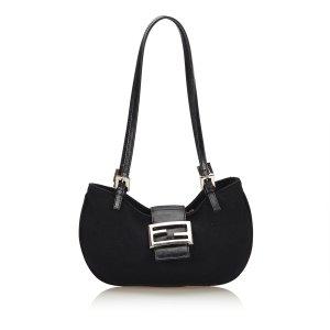 Fendi Mini Nylon Shoulder Bag
