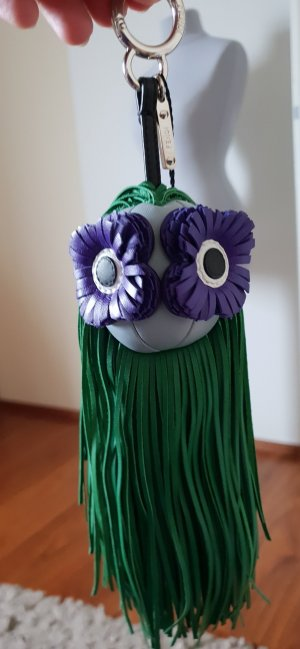 Fendi Monster Charm Leder Neu mit Etikett