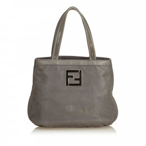 Fendi Nubuck Leather Handbag