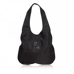 Fendi Sac hobo noir nylon