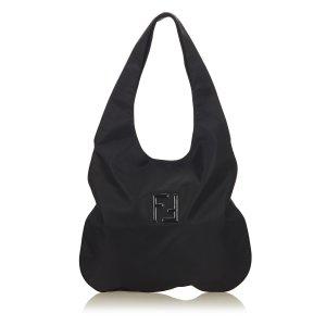 Fendi Nylon Hobo Bag