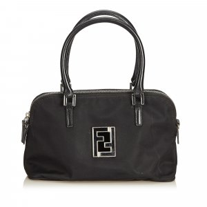 Fendi Satchel black nylon