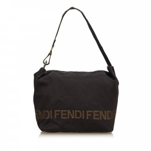 d95434705723 ... spain fendi shoulder bag black nylon 5ef90 50530