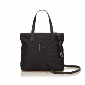 Fendi Borsa larga nero Nylon