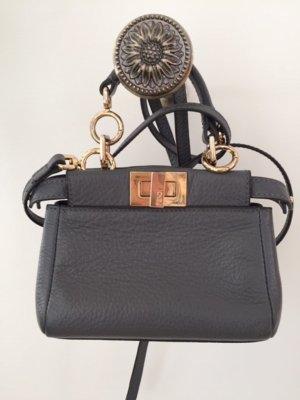 Fendi Mini Bag dark grey leather