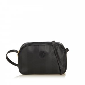 Fendi Pequin Crossbody Bag