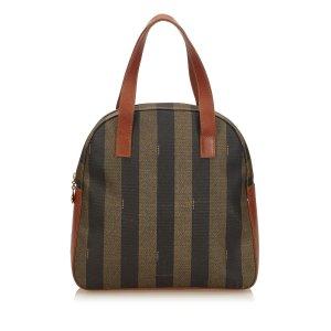 Fendi Pequin Handbag