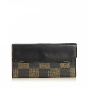 Fendi Pequin Long Wallet