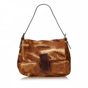 Fendi Pony Hair Baguette
