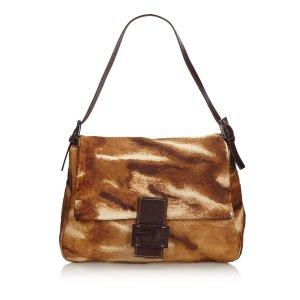 Fendi Pony Hair Mamma Forever Shoulder Bag