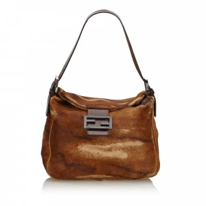 Fendi Pony Hair Shoulder Bag