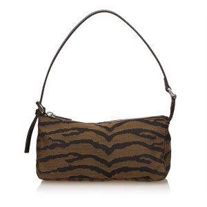 Fendi Printed Jacquard Handbag