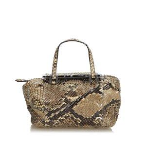 Fendi Python Handbag
