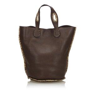 Fendi Tote black leather