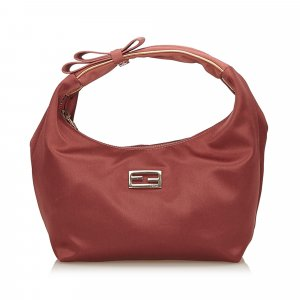 Fendi Satin Handbag