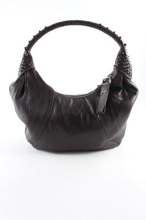 Fendi Shoulder Bag black brown casual look