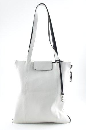 Fendi Sac porté épaule blanc motif abstrait style romantique