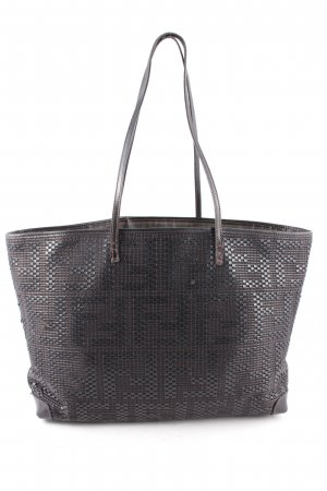 Fendi Borsa shopper nero-marrone modello web