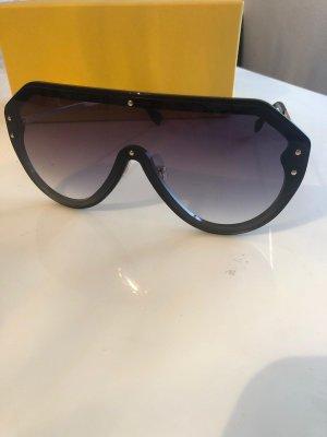 Fendi Gafas negro-color oro
