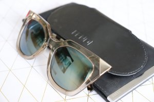Fendi Glasses multicolored metal