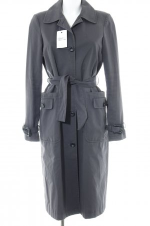 Fendi Quilted Coat anthracite casual look