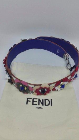 Fendi strap you floral python.