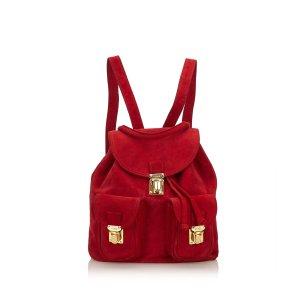 Fendi Suede Backpack