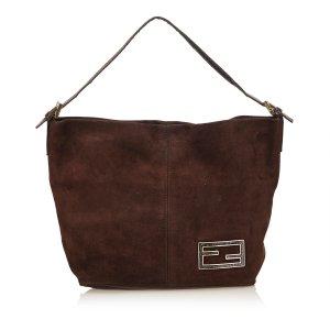 Fendi Suede Handbag