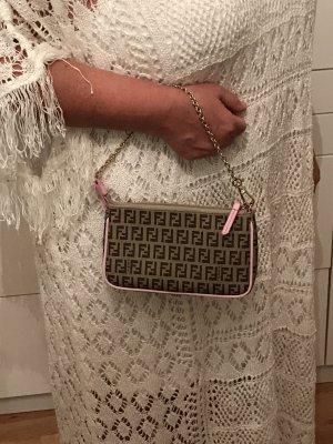 Fendi Mini Bag pink-bronze-colored