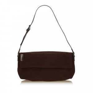 Fendi Wool Shoulder Bag