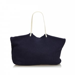 Fendi Tote blue wool