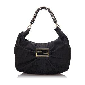 Fendi Zucca Canvas Mia Shoulder Bag