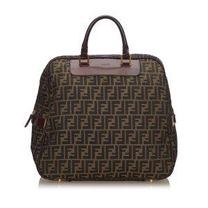 Fendi Zucca Canvas Travel Bag
