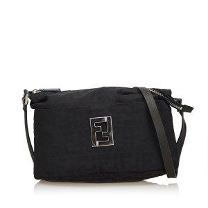 Fendi Zucca Jacquard Crossbody Bag