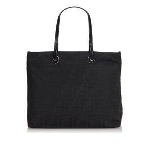 Fendi Zucca Jacquard Handbag