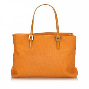 Fendi Zucca Jacquard Tote Bag