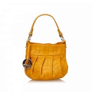 Fendi Zucca Leather Handbag