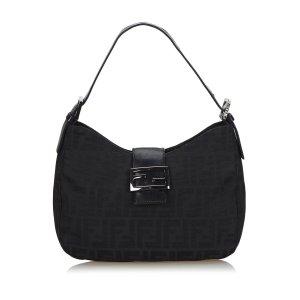 Fendi Zucca Nylon Shoulder Bag