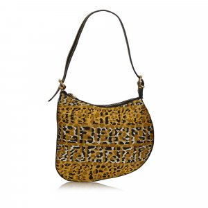 Fendi Zucca Printed Shoulder Bag
