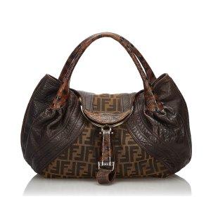 Fendi Zucca Spy Handbag