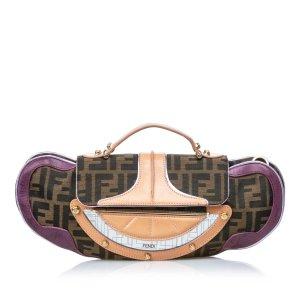 Fendi Zucca Vanity Handbag