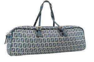Fendi Handbag blue textile fiber