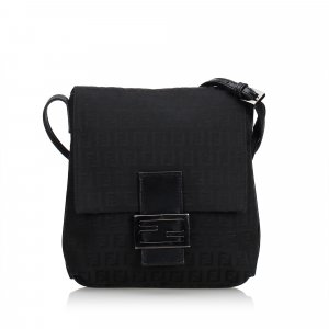Fendi Zucchino Canvas Crossbody Bag